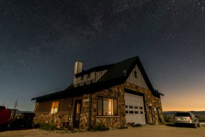 Milky Way over the lodge